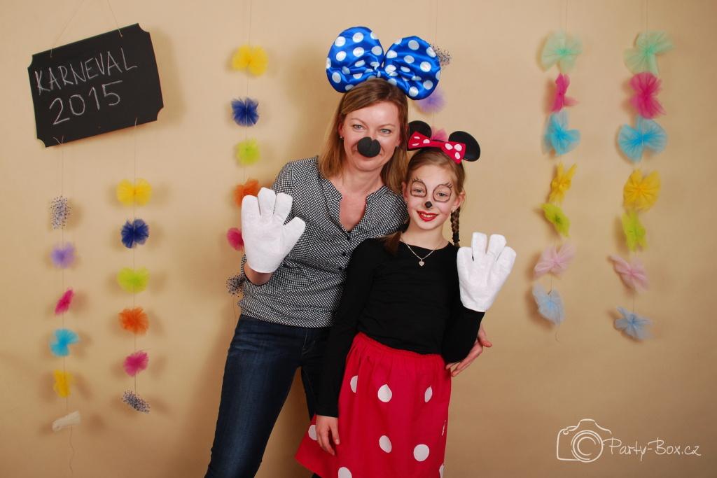 Fotostanek detsky karneval