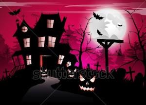 Fotopozadi fotokoutek Halloween