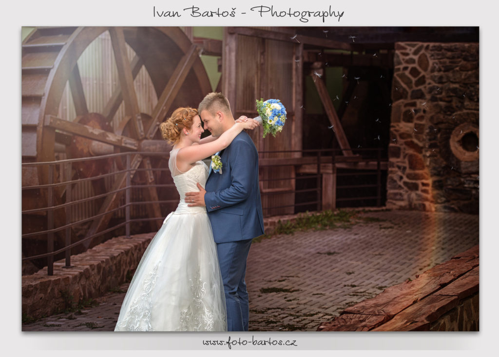 Haluv mlyn svatba